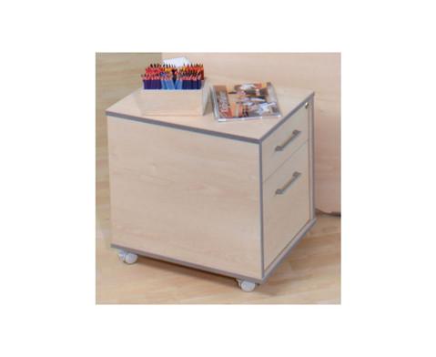 Rollcontainer mit 1 Schublade und 1 Haengeregistratur