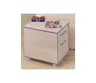 Rollcontainer mit 1 Schublade und 1 Hängeregistratur