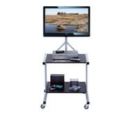 Set: Compra© Flatscreen-Cart + Philips 32-Zoll Flachbildschirm