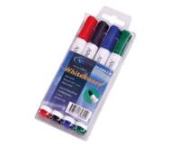 Whiteboard-Marker, 4-Farben-Etui