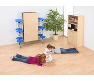 12er-Tisch-Sitz-Kombination rechteckig, Sitzhöhe 38,5 cm