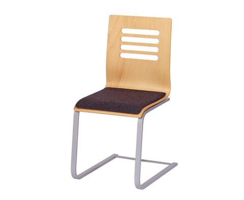 Schwingstuhl Design mit Sitzpolster