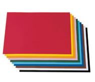 100 Bogen Tonzeichenpapier, 50 x 70 cm, in 10 Farbtönen