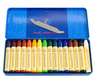 16 Farbstifte Stockmar Wachsfarben