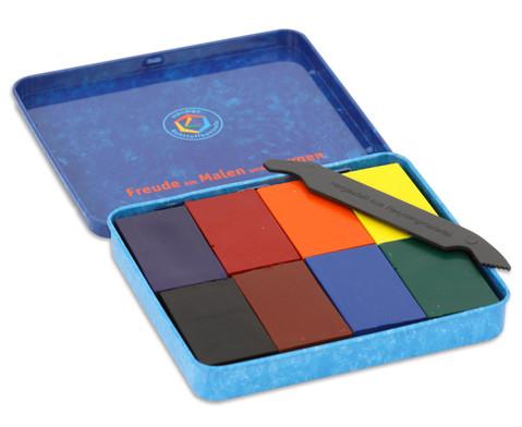 8 Farbbloecke Stockmar Wachsfarben