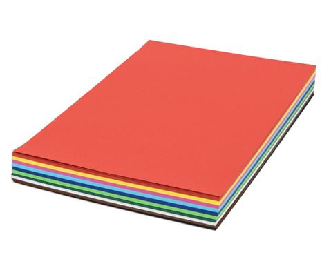 250 Bogen DIN A3 Tonkarton 160 g-m in 10 Farben