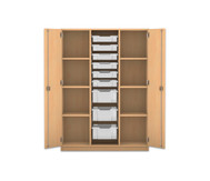 Flexeo Schrank PRO, 3 Reihen, 3 grosse Boxen, 6 kleine Boxen