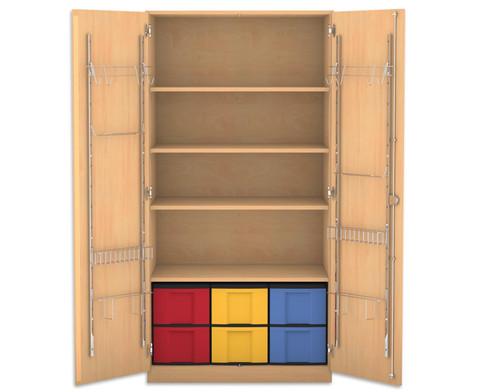 Flexeo Musikschrank 6 grosse Boxen HxBxT 190 x 944 x 60 cm-1