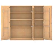 Flexeo Musikschrank, 2 kleinen und 2 grosse Boxen HxBxT: 190 x 126,4 x 60 cm