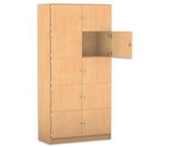 Flexeo Schliessfachschrank, 10 geschlossene Fächer, HxB: 190 x 94,4 cm