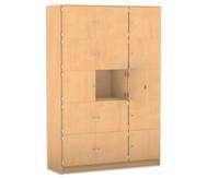 Flexeo Schliessfachschrank 15 geschlossene Fächer HxB: 190 x 142,5 cm