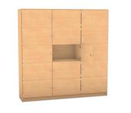 Flexeo Schliessfachschrank 15 geschlossene Fächer HxB: 190 x 190,5 cm