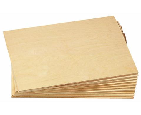Sperrholzplatten 10 Stueck 21 x 30 cm
