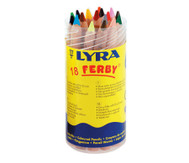 18 Stück Lyra Ferby, naturbelassen, in einer Dose mit Schraubdeckel