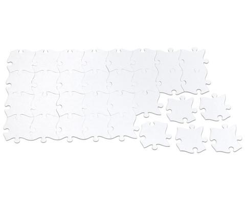 32 Riesen-Puzzleteile blanko-5