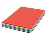 125 Bogen DIN A2, Tonzeichenkarton 160 g/m2 in 10 Farben