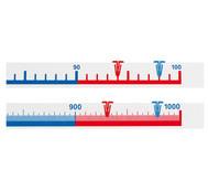 Schüler-Zahlenstrahlband, 1 bis 1000