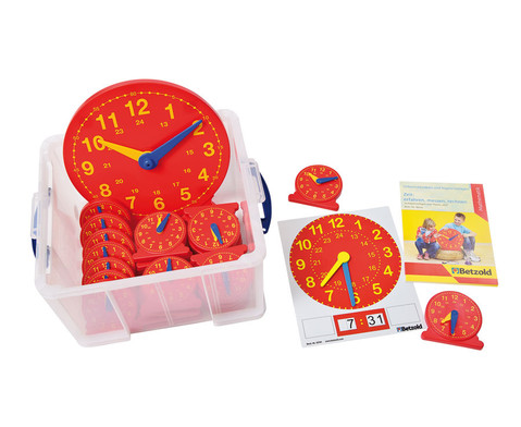 Grosses Klassen-Set Uhren
