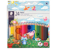 Farbstifte Noris Club®, Etui mit 24 Farben