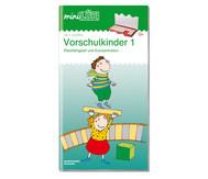 miniLÜK-Heft: Übungen für Vorschulkinder 1