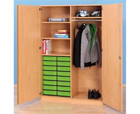 schubladen garderobenschrank tiefe 50 cm. Black Bedroom Furniture Sets. Home Design Ideas