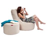 Outdoor Sitzsack Nuro, Maße (HxB) 90x85 cm, Sitzhöhe 30 cm