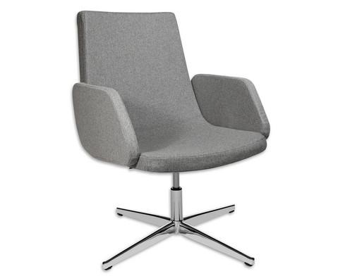 Flexness Lounge Stuhl mit Armlehnen