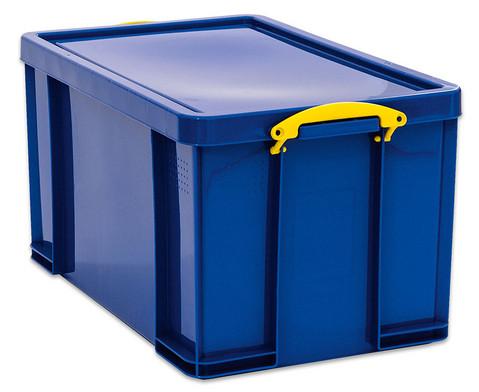 Really Useful Aufbewahrungsbox 84 l blau