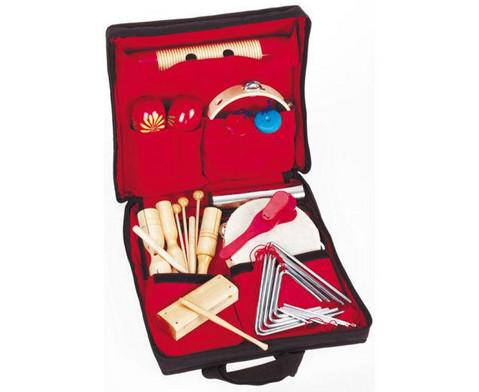 Rhythmik-Tasche mit 26 Einzelinstrumenten-1