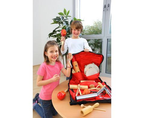 Rhythmik-Tasche mit 26 Einzelinstrumenten-4