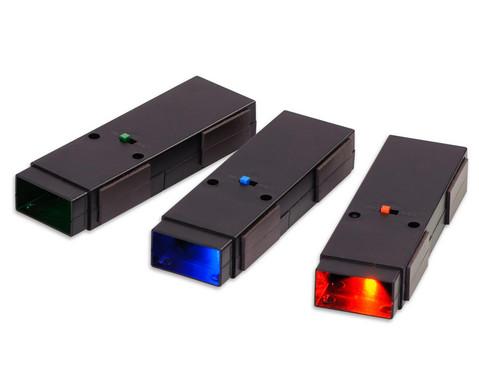 LED-Strahler 3er Satz rot gruen blau