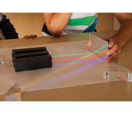 LED-Strahler 3er Satz (rot, grün, blau)