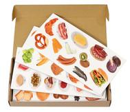 Magnetische Lebensmittel-Bilder