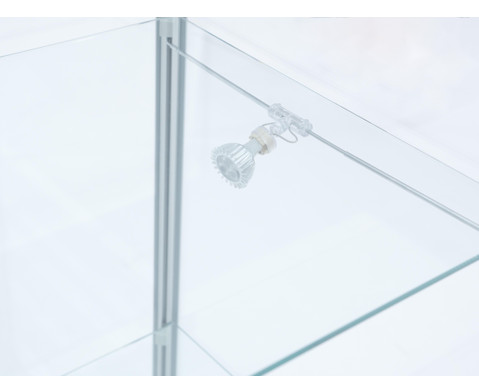 Quadrat-Vitrine BxTxH 415x415x1835 cm-4