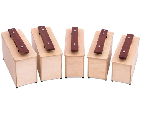 Betzold Musik Spar-Set mit 5 Kontrabass-Klangbausteinen