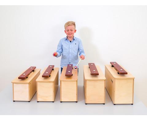 Spar-Set mit 5 Kontrabass-Klangbausteinen-4
