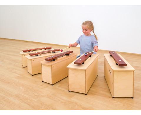 Spar-Set mit 5 Kontrabass-Klangbausteinen-6