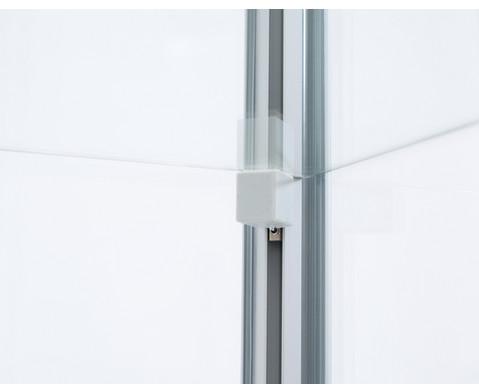 Rubo Schrank-Vitrine mit Unterschrank BxTxH 99x53x183 cm-8