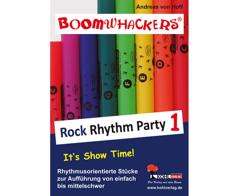 Boomwhackers Rock Rhythm Party