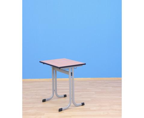 Einer-Schuelertisch mit C-Fuss 70 x 55 cm