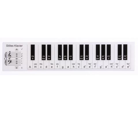 Stilles Klavier - grosse Version