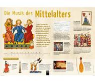 Poster - Die Musik des Mittelalters