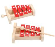 Akkord-Glockenspiele, Set 3, Ergänzungssatz auf F-Dur und d-Moll