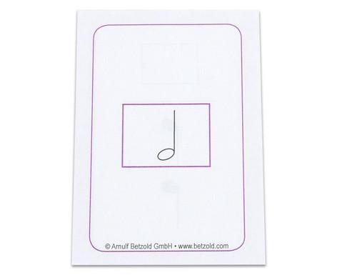 Rechnen mit Noten  - Kartensatz fuer den Magischen Zylinder-2