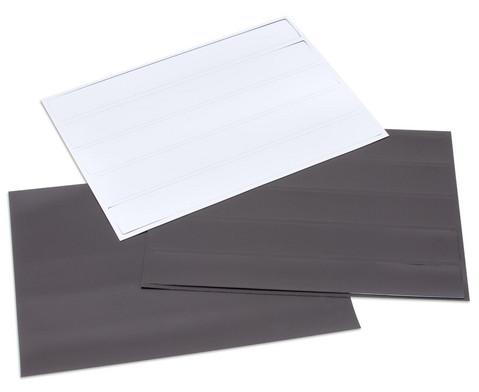 Magnetische Tafelschilder zum Beschriften
