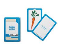 Gemüse und Obst - Kartensatz für den Magischen Zylinder