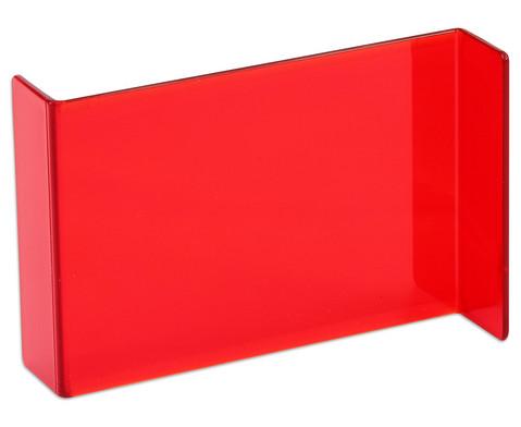 Geometriespiegel rot