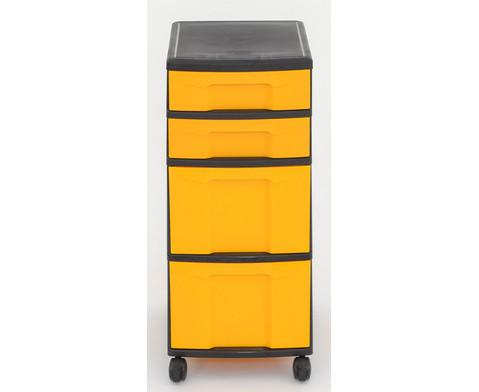 Flexeo Rollcontainer mit 3 grossen 2 kleinen Boxen-29