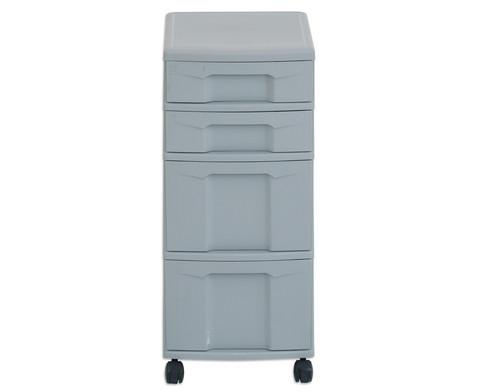 Flexeo Rollcontainer mit 3 grossen 2 kleinen Boxen-27