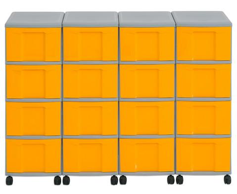 Flexeo Container-System 4 Reihen 16 grosse Boxen HxBxT 66x120x38 cm-18